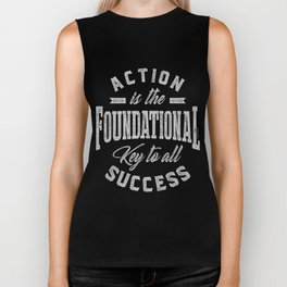 Action is the foundational Biker Tank