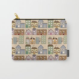 Houses Carry-All Pouch