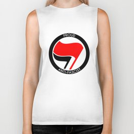 Proud Antifascist Biker Tank