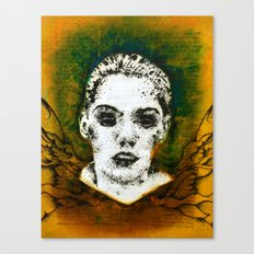 Wings Series One (Angel) Canvas Print