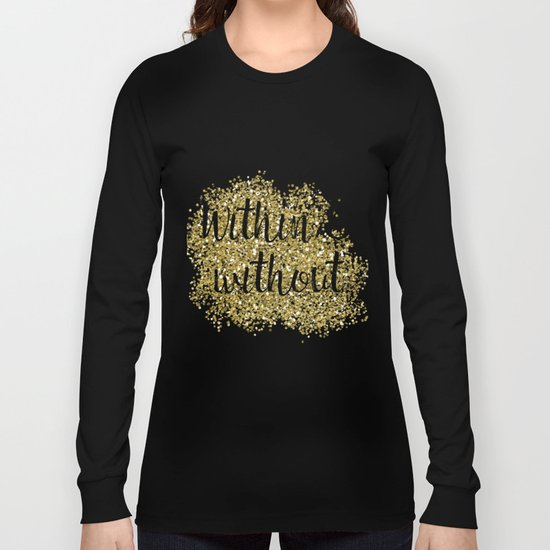 Within and without - golden jazz Long Sleeve T-shirt