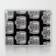 I Still Shoot Film Holga Logo - Black Laptop & iPad Skin