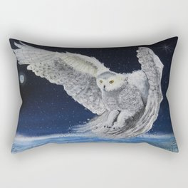 Winter Hunt Rectangular Pillow