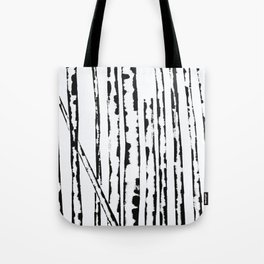 Nature's Barcode Tote Bag