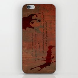 Calvary's Blood iPhone Skin