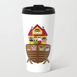 Cute Noahs Ark Travel Mug