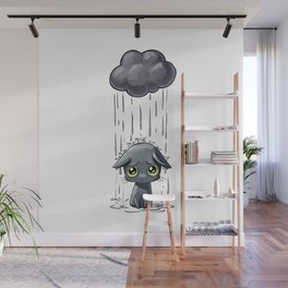 Pouring Wall Mural