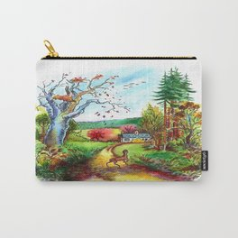 A Deer Carry-All Pouch