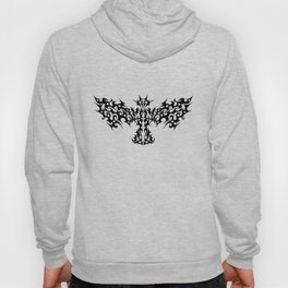 Tribal Dragon Bird Tattoo Hoody