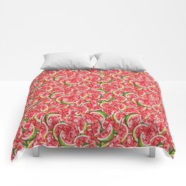 Watermelons Forever Comforters