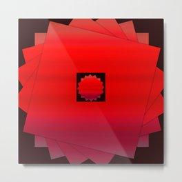 RedBox Metal Print