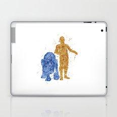 C3PO and R2D2 Star . Wars Laptop & iPad Skin