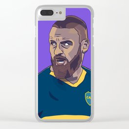 Daniele De Rossi Boca Juniors Clear iPhone Case