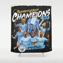 champions city 2019 premier Shower Curtain