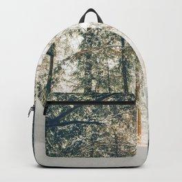 Golden Winter Forest (Color) Backpack