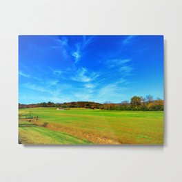 Fly Space Metal Print
