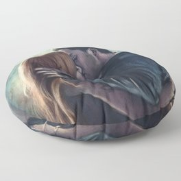 Clary & Jace Floor Pillow