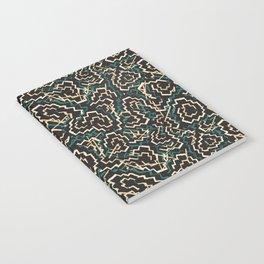 Zig Zag Abstract Geometric Pattern Notebook