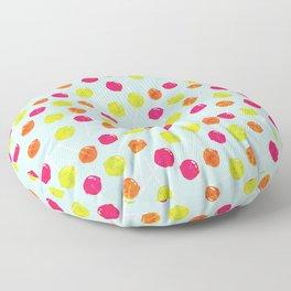Watercolour Lolly Pops, Watercolor Popsicles Floor Pillow
