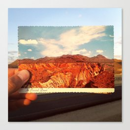 The Painted Desert Canvas Print