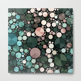 Under the sea - abstract Metal Print