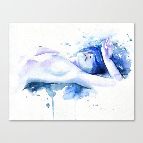 Read my mind Canvas Print