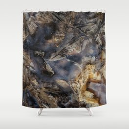 Rabbit Agate Shower Curtain