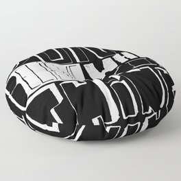 DON´ BELIEVE WHAT YOU THINK Floor Pillow