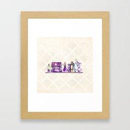 Magic Shelf Framed Art Print