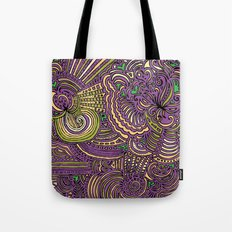 Drawing Meditation - Lilac Tote Bag