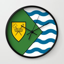 Flag of Vancouver Wall Clock