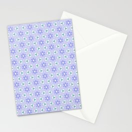 Periwinkles Pattern Stationery Cards