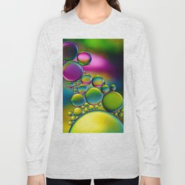 """Spherical Joining"" - Oil and Water Long Sleeve T-shirt"