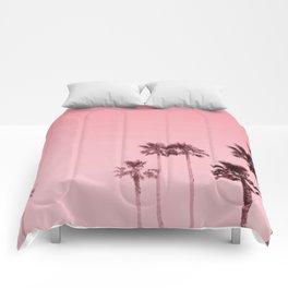 Tranquillity - flamingo pink Comforters
