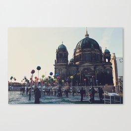 Berlin Points Canvas Print