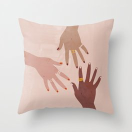 Love Is A Superpower Throw Pillow