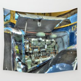 Guy Arab Bus Engine Wall Tapestry
