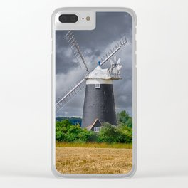 Norfolk windmill Clear iPhone Case