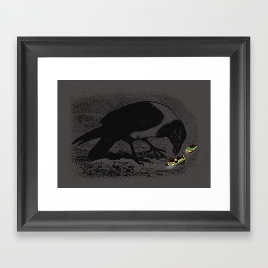 Dinobirds Framed Art Print