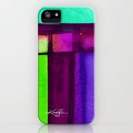 Color Block 4 by Kathy Morton Stanion iPhone Case