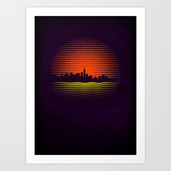 s.u.n. Art Print