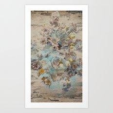 Moonflowers Art Print