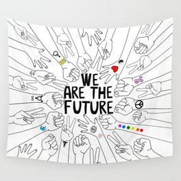 We Are The Future Tattoos Part 2 Wall Tapestry