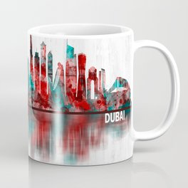 Dubai United Arab Emirates Skyline Coffee Mug