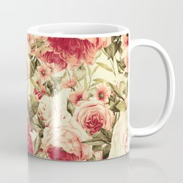 Vintage Blossoms (Endearing Sunset) Coffee Mug