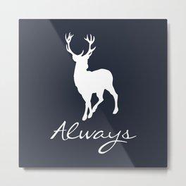 Always a Deer Metal Print