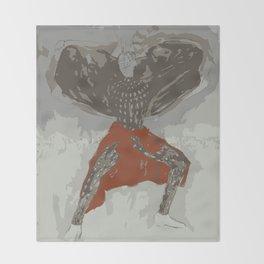 African Male Print, Throw Blanket