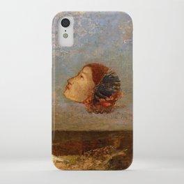 "Odilon Redon ""Hommage a Goya"" iPhone Case"