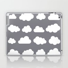 Grey clouds on grey winter skies Laptop & iPad Skin