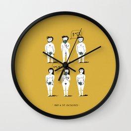 Adam & Eve Uncensored Wall Clock